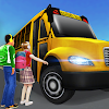 Super High School Bus Driving Simulator 3D - 2019