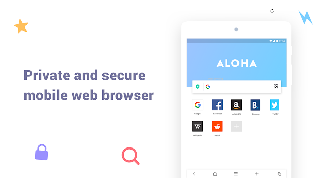 Aloha Browser Lite - Private browser and free VPN