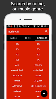 Radioair - Radio and Music for free