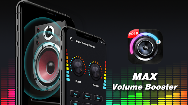 Volume Booster RRO - Sound Booster for Android - by VAVA Free Music