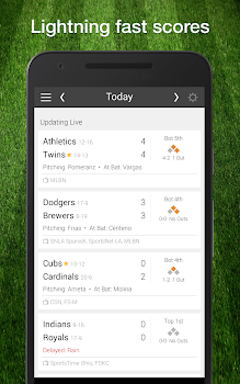 baseball mlb 2018 schedule scores pro edition by scores app