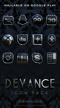 DEVANCE Next Launcher 3D Theme - by scapemode - Personalization Category -  23 Features & 5 Reviews - AppGrooves Best Apps