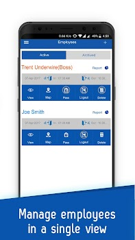 iTimePunch Plus Employee Work Hours & Time Tracker