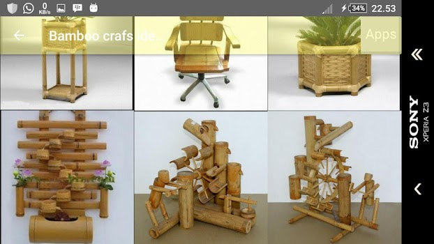 Bamboo Craft Ideas By Akhmalfabian Art Design Category 3