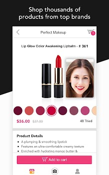 YouCam Shop - World's First AR Makeup Shopping App