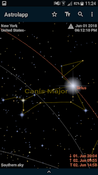Astrolapp Live Planets And Sky Map By Ecliptical Apps Education