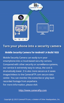 Mobile Security Camera (FTP)