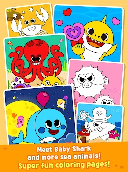 Pinkfong Baby Shark Coloring Book By Smartstudy Pinkfong