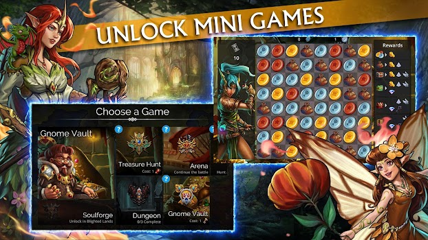 Dungeon Gems - by Gameloft - Role Playing Games Category