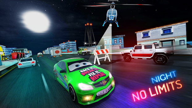 Lightning Cars Traffic Racing: No Limits