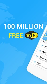 WiFi Map — Free Passwords & Hotspots