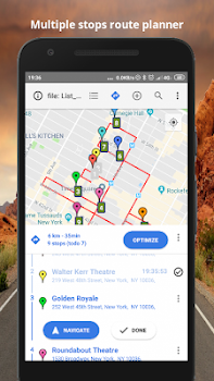 Multiple stops route planner - by Sales Master Map Labs - Maps