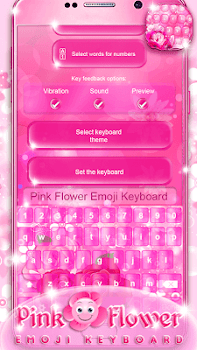Pink flower emoji keyboard by cailin apps editor lifestyle pink flower emoji keyboard by cailin apps editor lifestyle category 13 reviews appgrooves best apps mightylinksfo