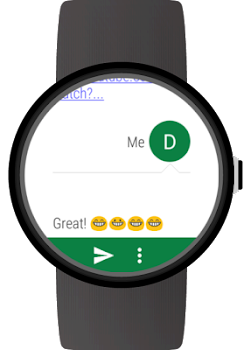 aac5864cbf8 Messages for Wear OS (Android Wear) - by appfour - Category - 2 ...