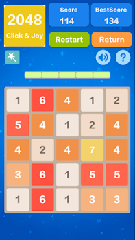2048 Number Puzzle Games- Math Tricks Workout