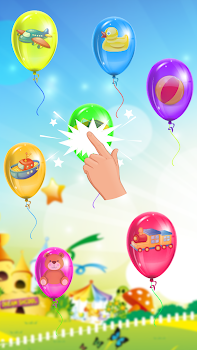 balloon pop kids game by kids games arena music games category