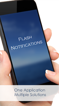 Flash Alerts, Flash Notifications/Flashlight Alert