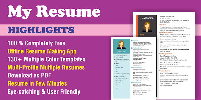 Best 10 Resume Building Apps Appgrooves Discover Best Iphone