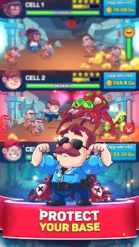 Idle Prison Tycoon: Gold Miner Clicker Game