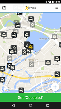 mytaxi App for Taxi Drivers