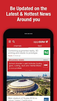 appdater - Breaking and Trending News