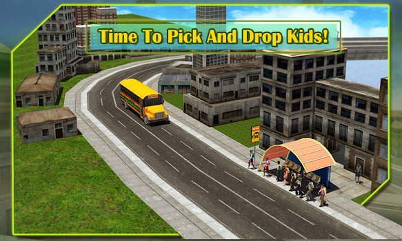 School Bus Driver 3D Simulator