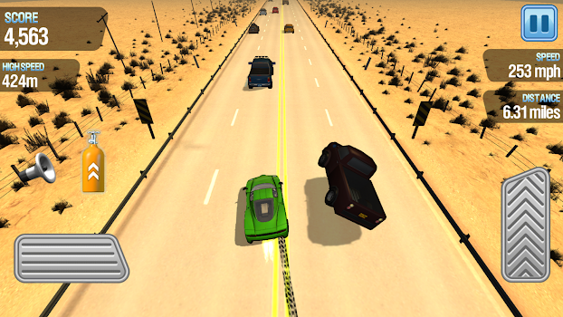 Traffic Racing - How fast can you drive?