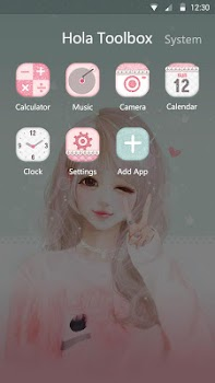 Pink Wink - Launcher Theme