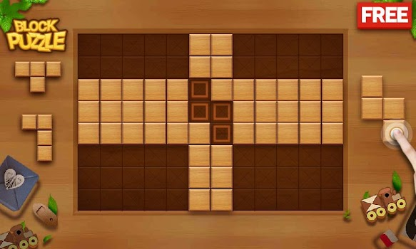 Block Puzzle - Wood Legend