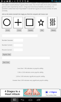 Zener Psychic Ability Test - by Spirit Productions - Lifestyle