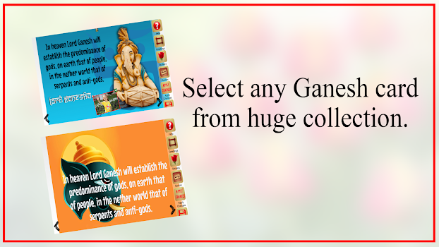 Ganesh chaturthi greeting card by vcsapps photography category ganesh chaturthi greeting card m4hsunfo Choice Image
