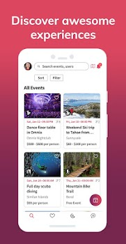 Group Set Go - Group experiences & share expenses.