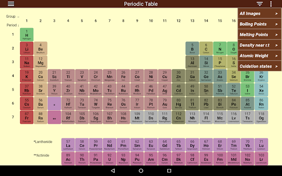 Periodic table by iexamonline 3 app in periodic table of 3 education periodic table of elements urtaz Choice Image