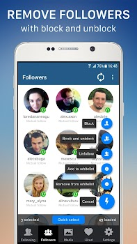 Cleaner for instagram unfollow block and delete by novasoft cloud cleaner for instagram unfollow block and delete ccuart Image collections