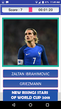 Football Soccer Quiz 2018: Guess the Player