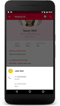 Medical ID (Free): In Case of Emergency