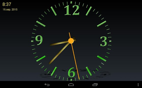 Nice Night Clock with Alarm and Light