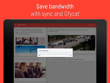 Sync for reddit (Pro) - by Red Apps LTD - News & Magazines Category
