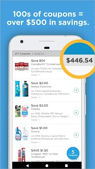 Coupons.com – Grocery Coupons & Cash Back Savings