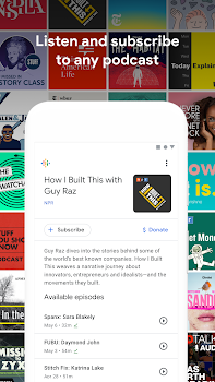 Google Podcasts: Discover free & trending podcasts
