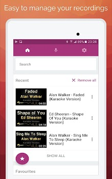 Karaoke 2018 sing record by entertainment apps team 3 app in karaoke 2018 sing record urtaz Image collections