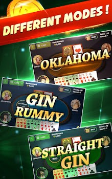 Gin Rummy Free - Best 2 Player Card Game
