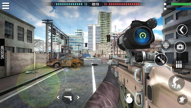 Country War : Battleground Survival Shooting Games