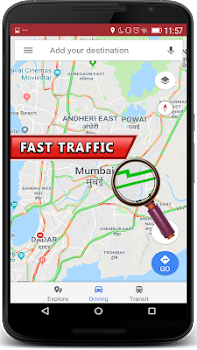 Live Traffic Route Finder