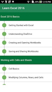Learn Excel 2016