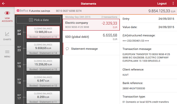 Fujitsu Helps Belfius Implement Secure Bank Account Opening From A Mobile Device With Sign It E Signature Solution