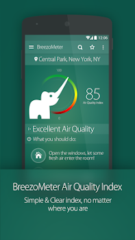 Air Quality Index BreezoMeter