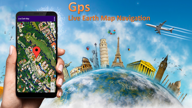Live Street View Map: Earth Navigation Satellite