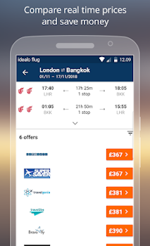 idealo flights - cheap airline ticket booking app