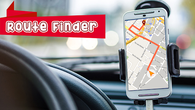GPS Route Finder : Maps Navigation and Directions - by Prime Studio